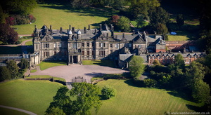 Sandon Hall Staffordshire  aerial photograph
