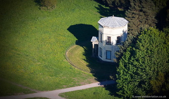 Tower of the Winds Shugborough Hall aerial photograph