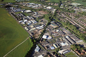 Astonfields Industrial Estate, Stafford, ST16   from the air