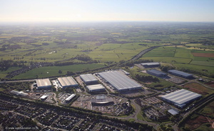 Prologis Park, Mustang Drive , Stafford ST16 from the air
