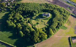 Stafford Castle aerial photograph