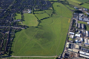 Stafford Common from the air