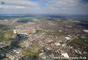 Stafford from the air ic07040