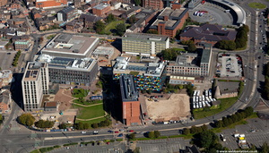 Smithfield Stoke-on-Trent   from the air