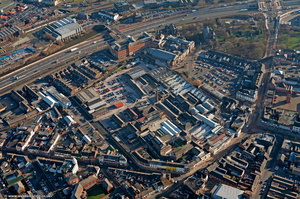 Spode Works Stoke-on-Trent  from the air
