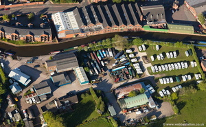 Stone Boat Building Chandlery aerial photograph
