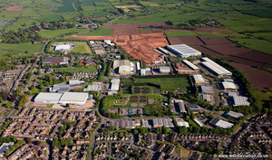 Stone Business Park Stone, Staffordshire aerial photograph