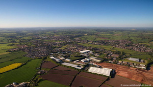 Stone Business Park aerial photograph