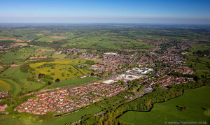 Stone, Staffordshire aerial photograph