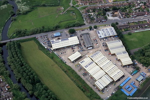 Riverside Industrial Estate Tamworth aerial photograph