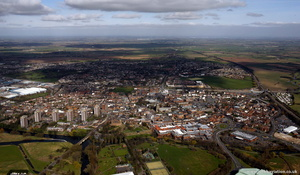 Tamworth from the air