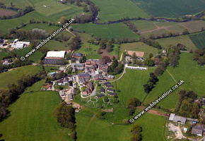 Uttoxete Staffordshire aerial photograph