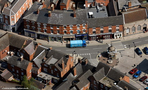 Market Place  Uttoxeter   from the air