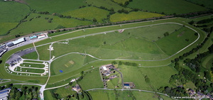 Uttoxeter Racecourse from the air
