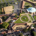 Tattersalls Newmarket, Suffolk from the air