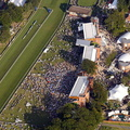Newmarket Racecourse Newmarket, Suffolk from the air