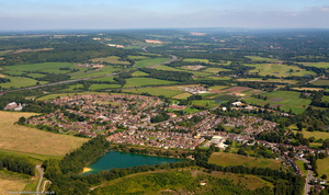 Godstone Surrey  from the air