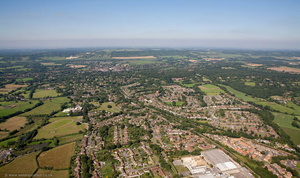 Oxtead Surrey from the air