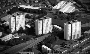Chandless Estate  Gateshead from the air