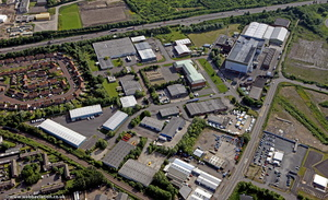 Dunston Industrial Estate Gateshead  from the air