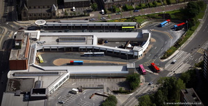 Gateshead Interchange from the air
