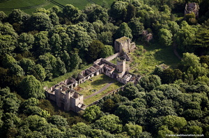 Ravensworth Castle Tyne and Wear  aerial photograph