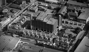 old Trinity Square Gateshead from the air