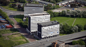 Tynegate Office Precinct   Gateshead from the air