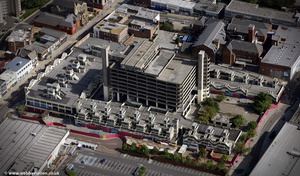 Trinity Square Gateshead Tyne and Wear aerial photograph