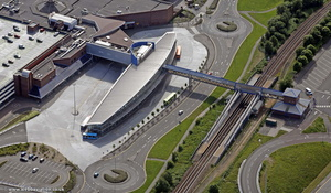 Metrocentre Interchange  from the air