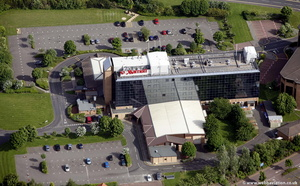 Newcastle Gateshead Marriott Hotel MetroCentre  from the air