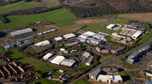 Balliol Business Park Newcastle from the air