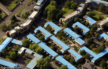 Byker Wall Newcastle upon TyneTyne and Wear aerial photograph