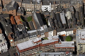 Cloth Market, Newcastle upon Tyne from the air