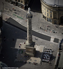 Earl Grey Monument Newcastle upon TyneTyne and Wear aerial photograph