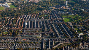 Gosforth Newcastle from the air