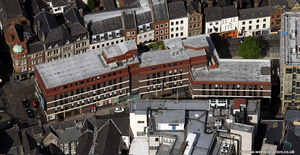 Cathedral Square  in the Cloth Market Newcastle Newcastle  from the air