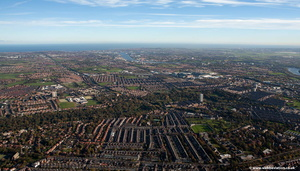Gosforth Newcastle upon Tyne  from the air