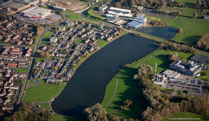 Killingworth Lake Newcastle from the air
