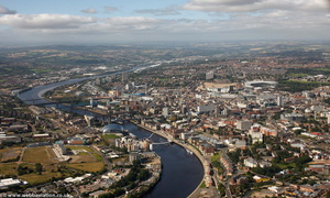 Newcastle from the air