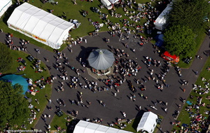 Newcastle Green Festival from the air