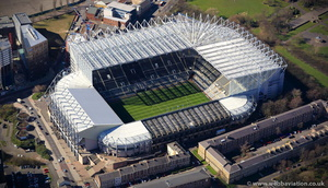 Newcastle football stadium ic05437