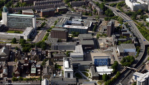 Northumbria University City Campus West  from the air