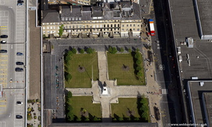 Old Eldon Square Newcastle  from the air
