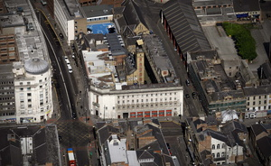 former Fire Station, Newcastle  from the air