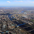 River Tyne aerial photo