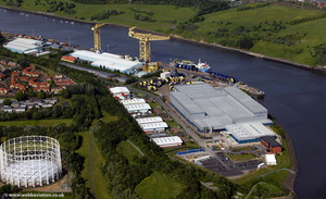 Wellstream Works Newcastle  aerial photo