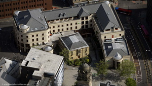"""lying-in"" hospital  Newcastle from the air"