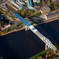 Metro rail bridge Newcastle upon TyneTyne and Wear aerial photograph