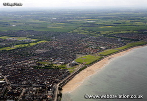 Whitley Bay North Tyneside Tyne and Wear aerial photograph